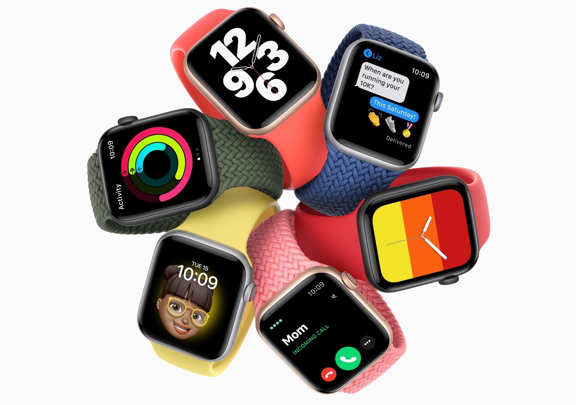 Apple анонсировала первые недорогие смарт-часы Apple Watch SE
