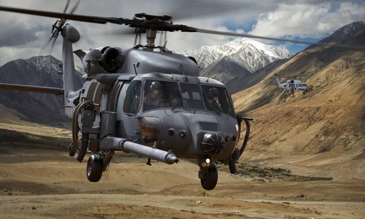 В США начались испытания пулемётов для спасательных вертолётов