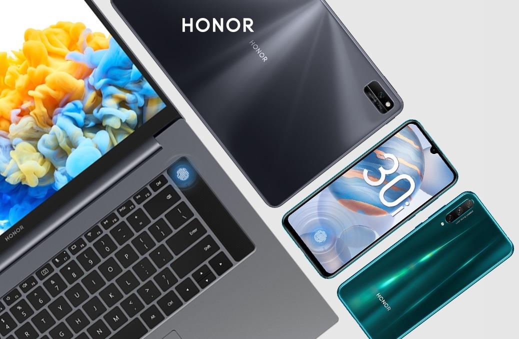 Honor продает ноутбуки, смартфоны и другие устройства со скидками