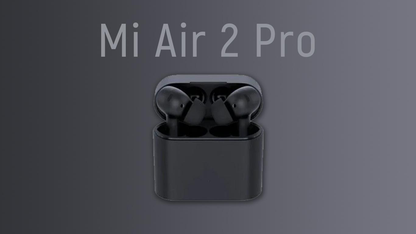 Вот так будет выглядеть конкурент Apple AirPods Pro от Xiaomi