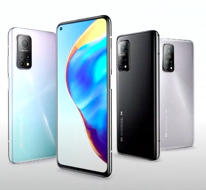 Xiaomi представила новые флагманские смартфоны Mi 10T