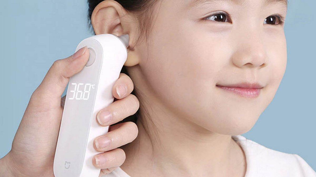 Xiaomi выпустила ушной термометр, выдающий результат за несколько секунд