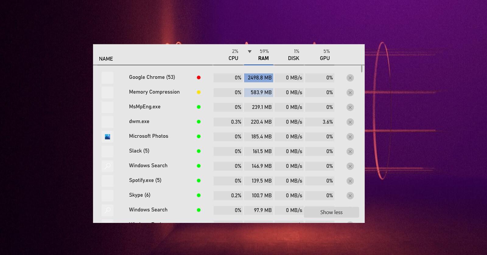 В Windows 10 появится специальный «Диспетчер задач» для игроков