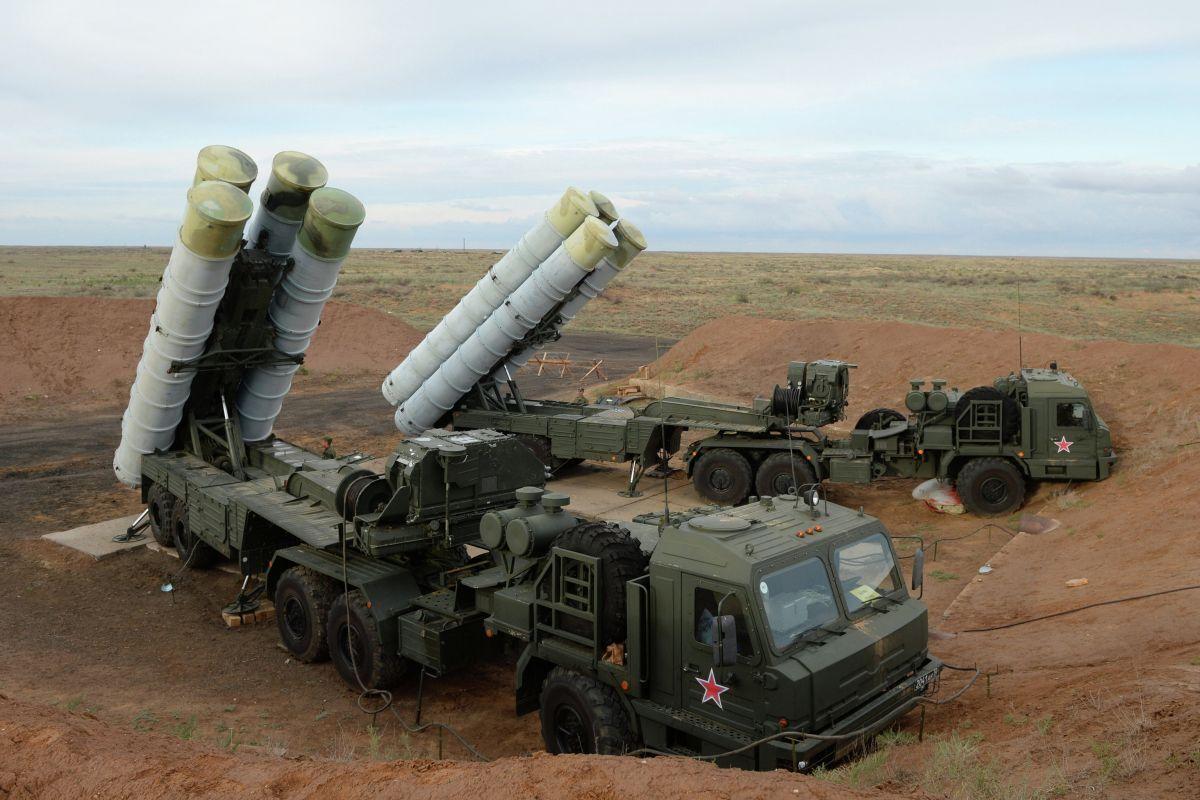 Пуски ракет с турецких С-400 показали на видео