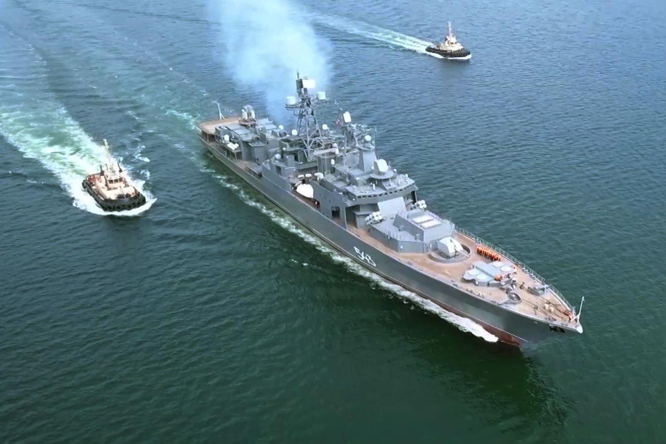 В США российский фрегат проекта 1155 назвали «вооружённым до зубов»