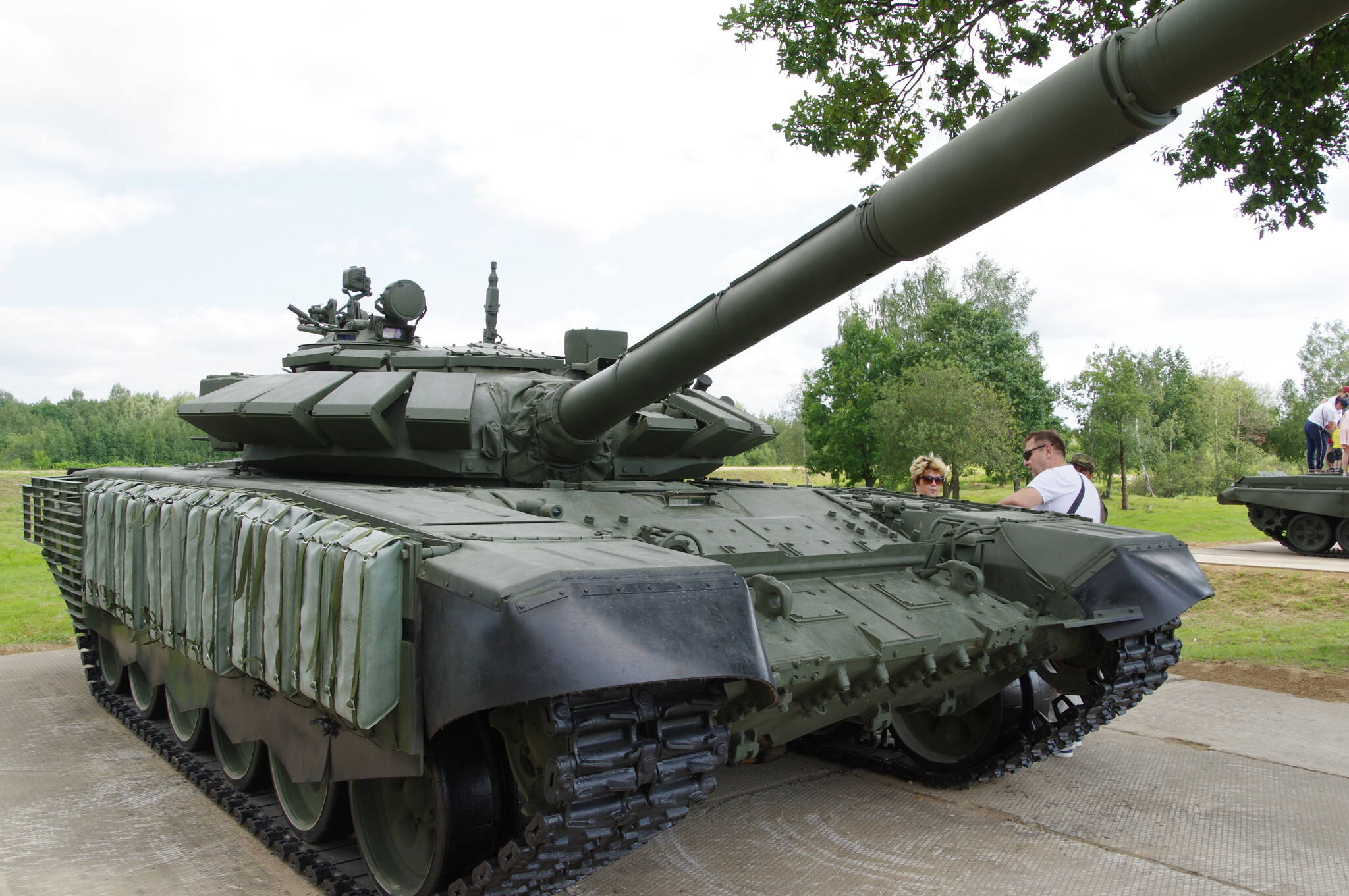 В США рассказали, как Россия усилит танки