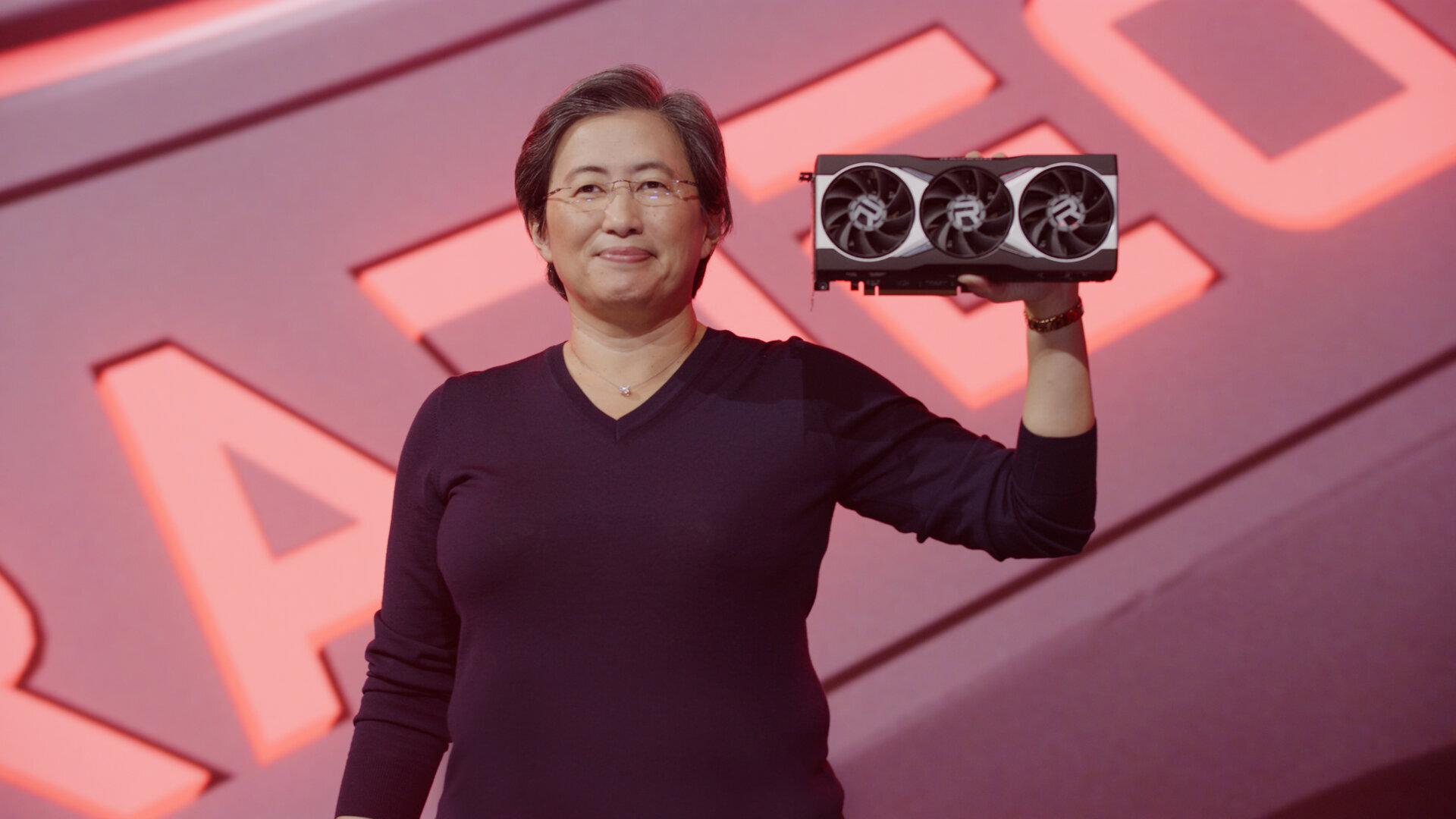 Опубликовано сравнение производительности еще невышедшей флагманской видеокарты AMD с NVIDIA RTX 3080 и 2080 Ti