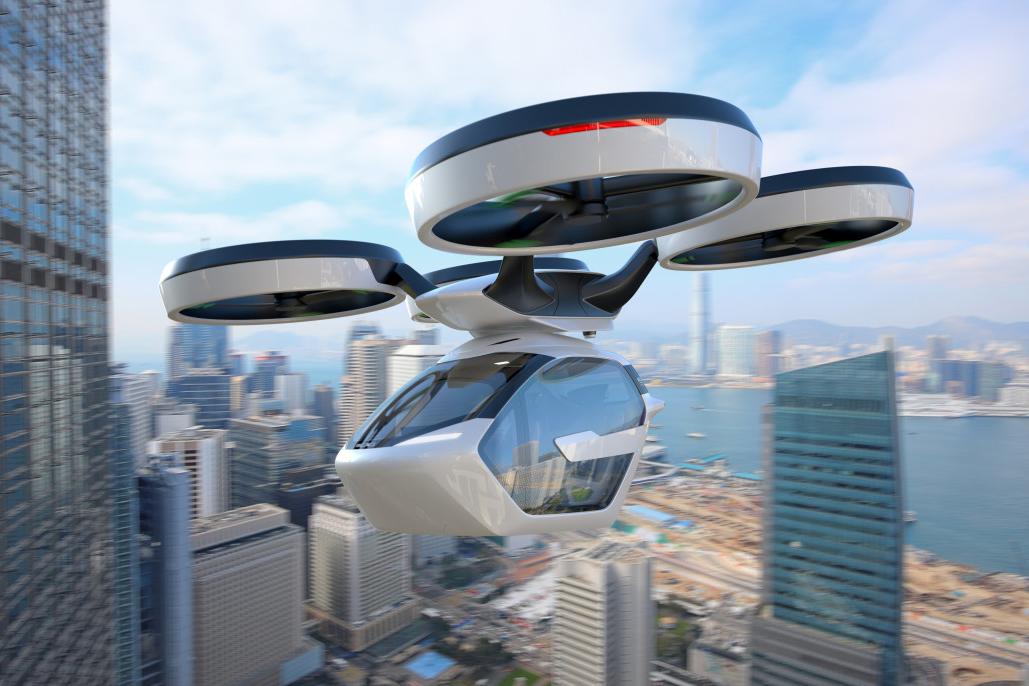 В России изобрели дрон будущего с космической подзарядкой
