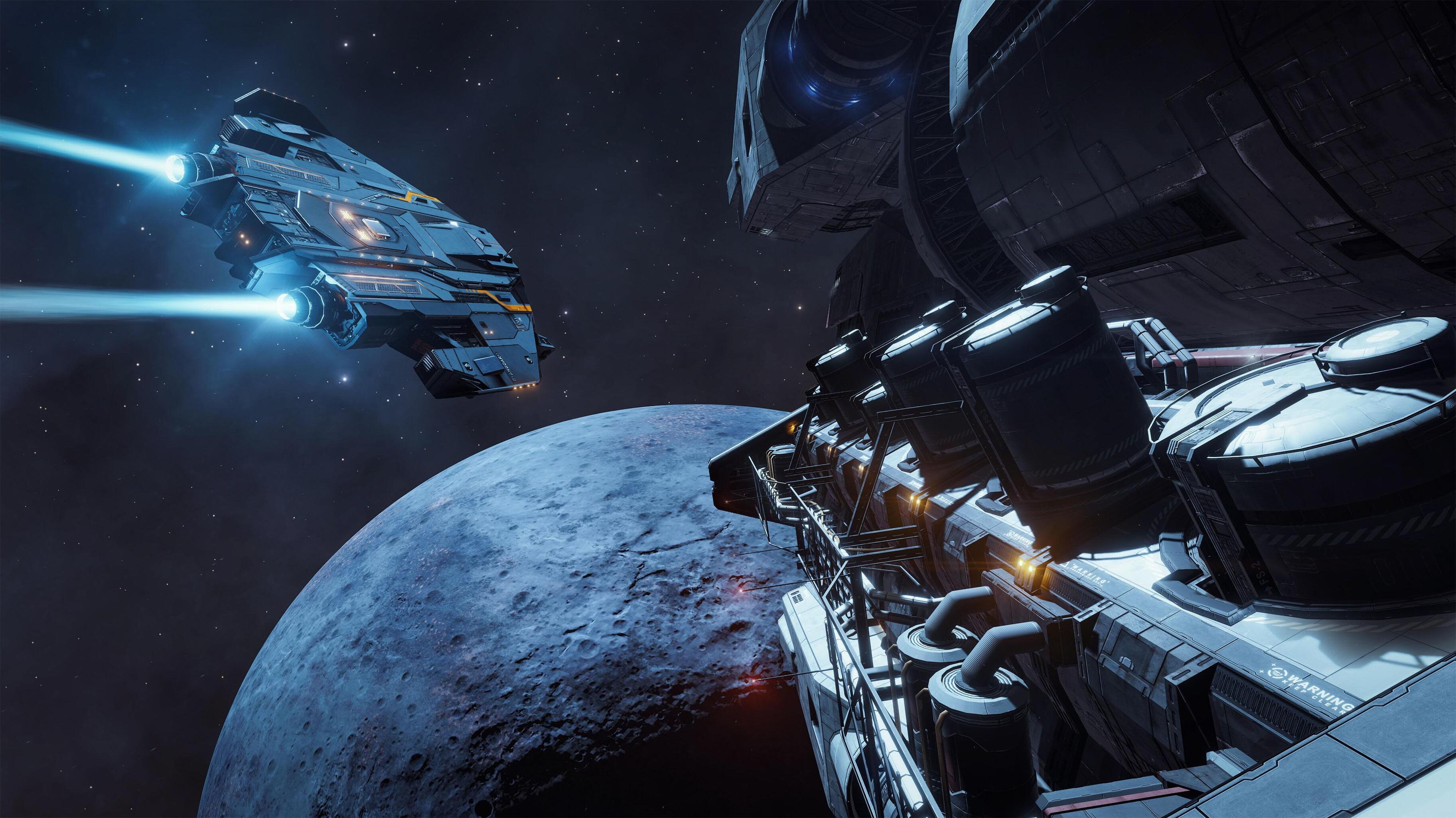 Многопользовательский космический симулятор Elite Dangerous раздают бесплатно и навсегда