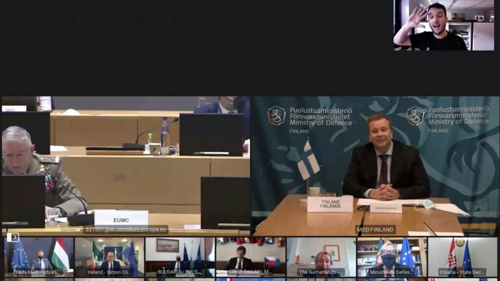 Министры обороны Евросоюза случайно раскрыли пароль от секретной видеоконференции