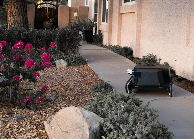 Новый робот-садовник будет поливать водой чужих людей