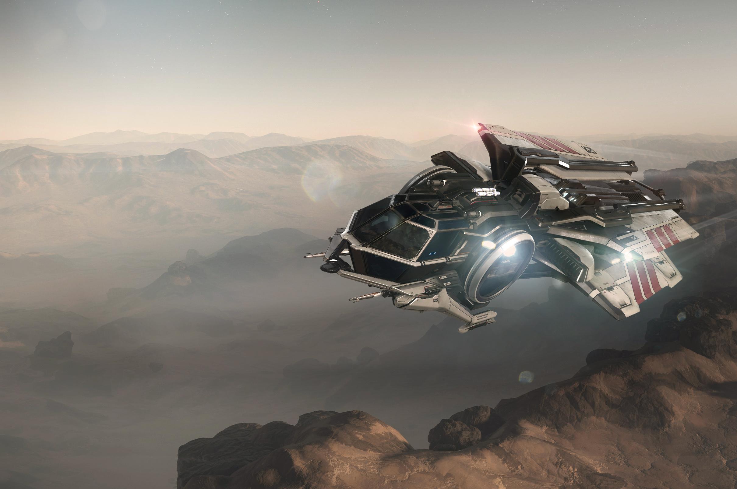 Космический симулятор Star Citizen стал временно бесплатным