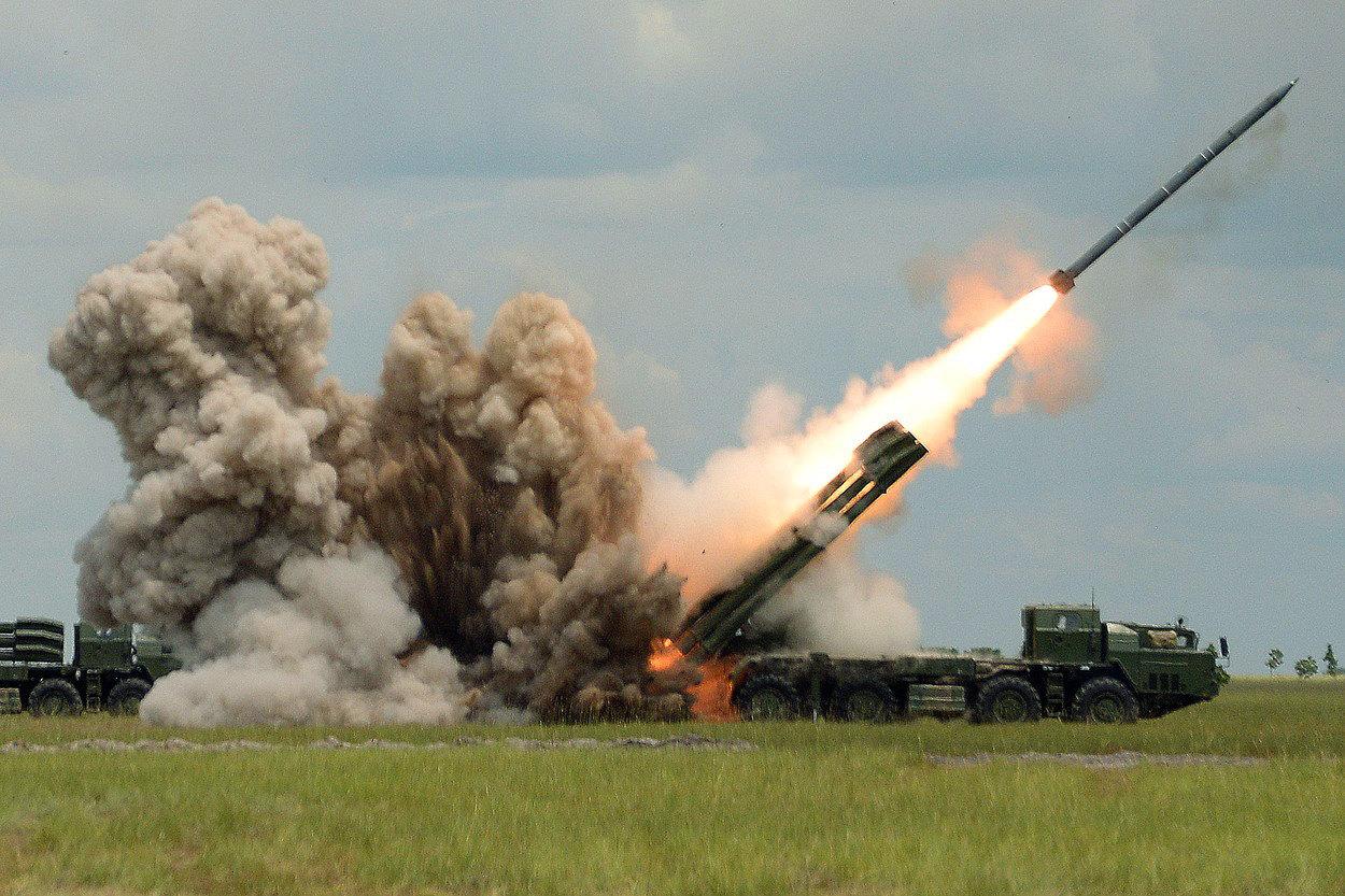 Российскую систему залпового огня «Торнадо-С» признали по-настоящему опасной