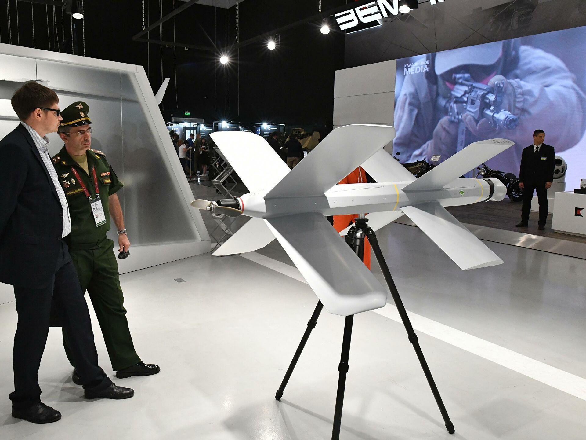«Калашников» выпустит новые дроны-камикадзе