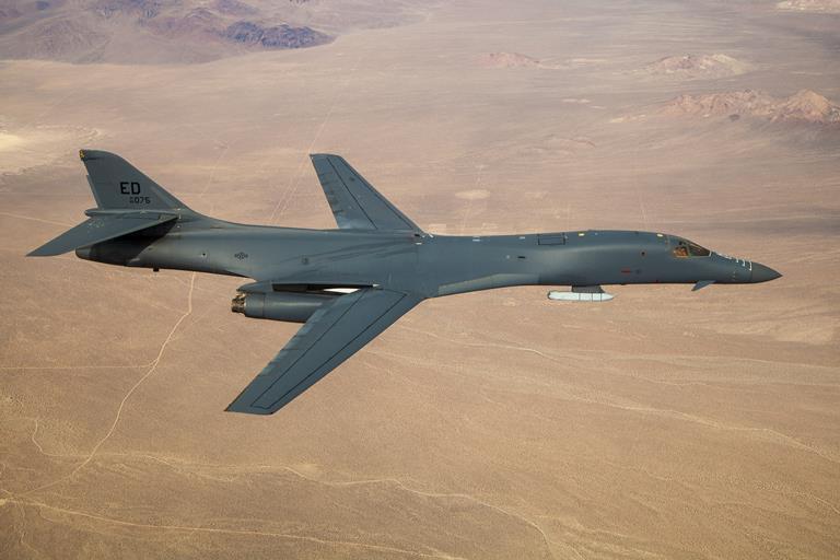 Американский бомбардировщик испытали с системой подвеса для гиперзвуковой ракеты
