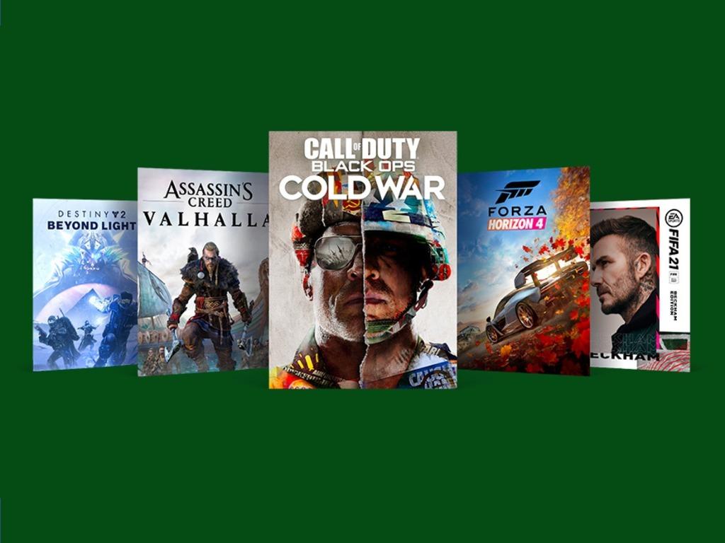 Началась новогодняя распродажа игр для Xbox