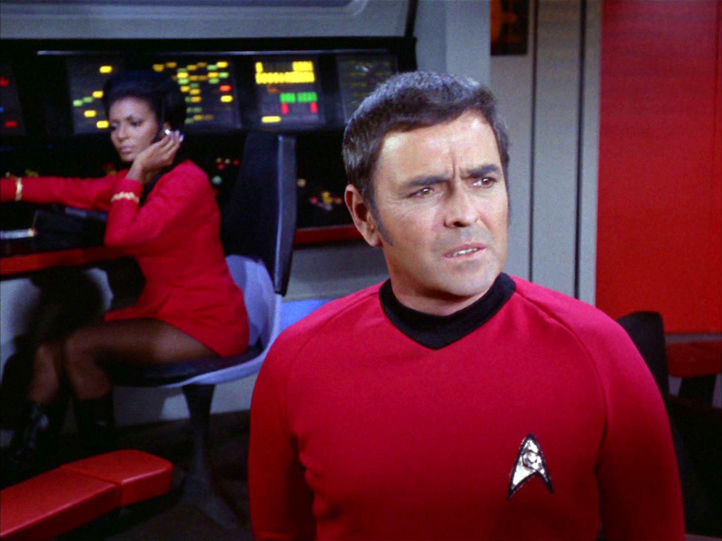 На МКС тайком пронесли прах актёра из Звёздного пути