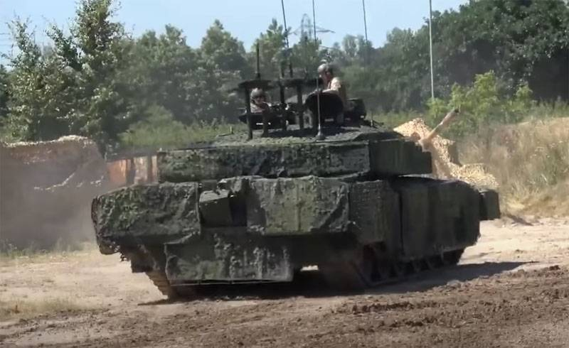 Великобритания изобрела камуфляж для «обмана» беспилотников, атакующих танк