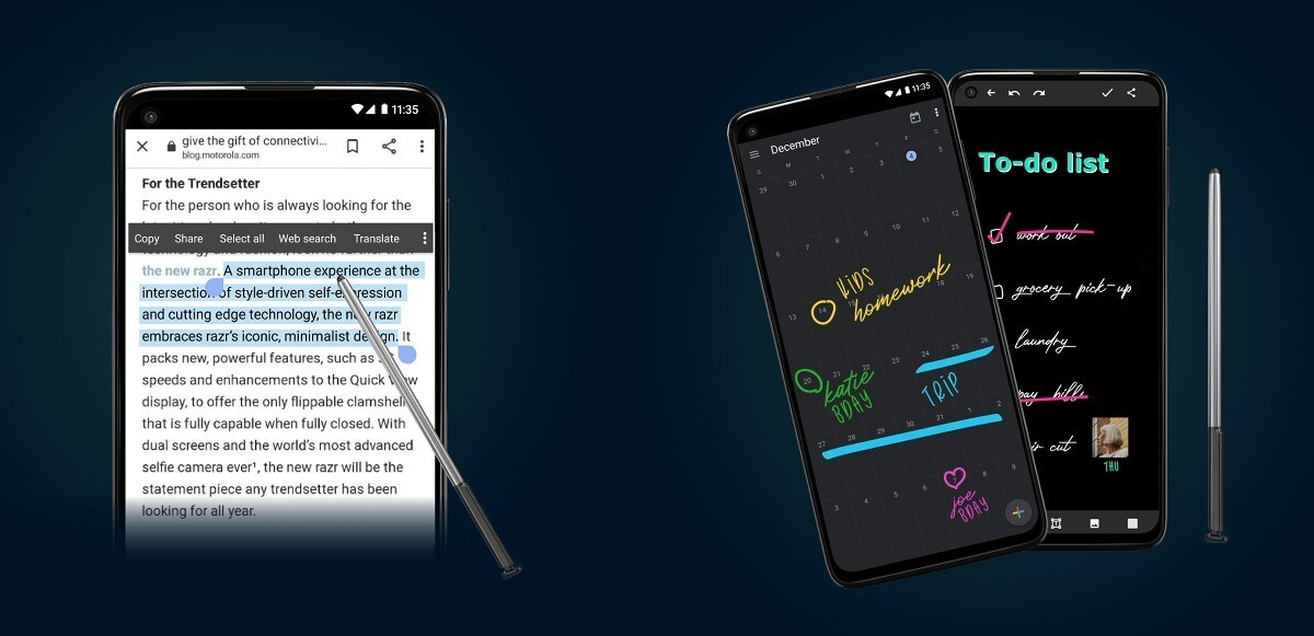 Анонсированы три новых бюджетных и «живучих» смартфона Motorola