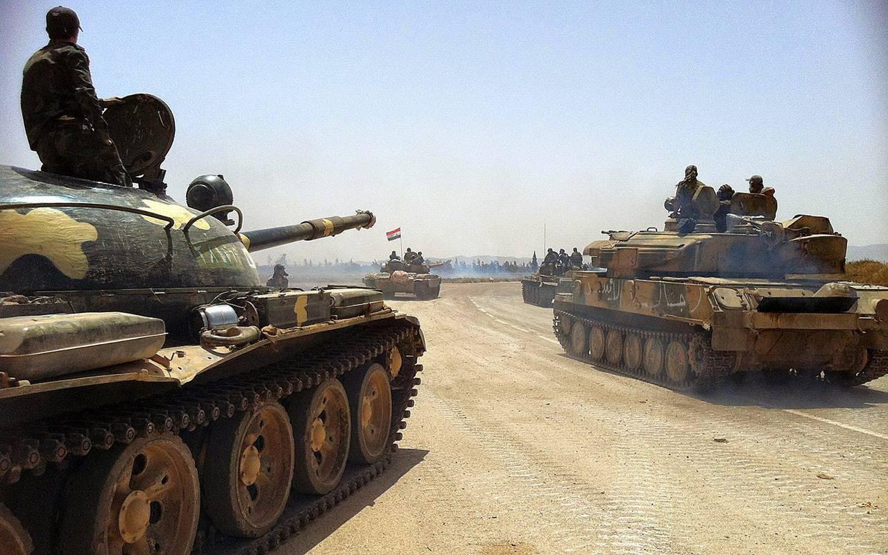 В Сирии попытались улучшить советский танк Т-62