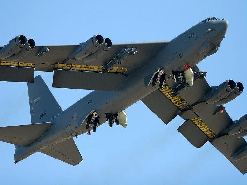 Американский бомбардировщик B-52 вернулся в состав ВВС США с кладбища самолётов