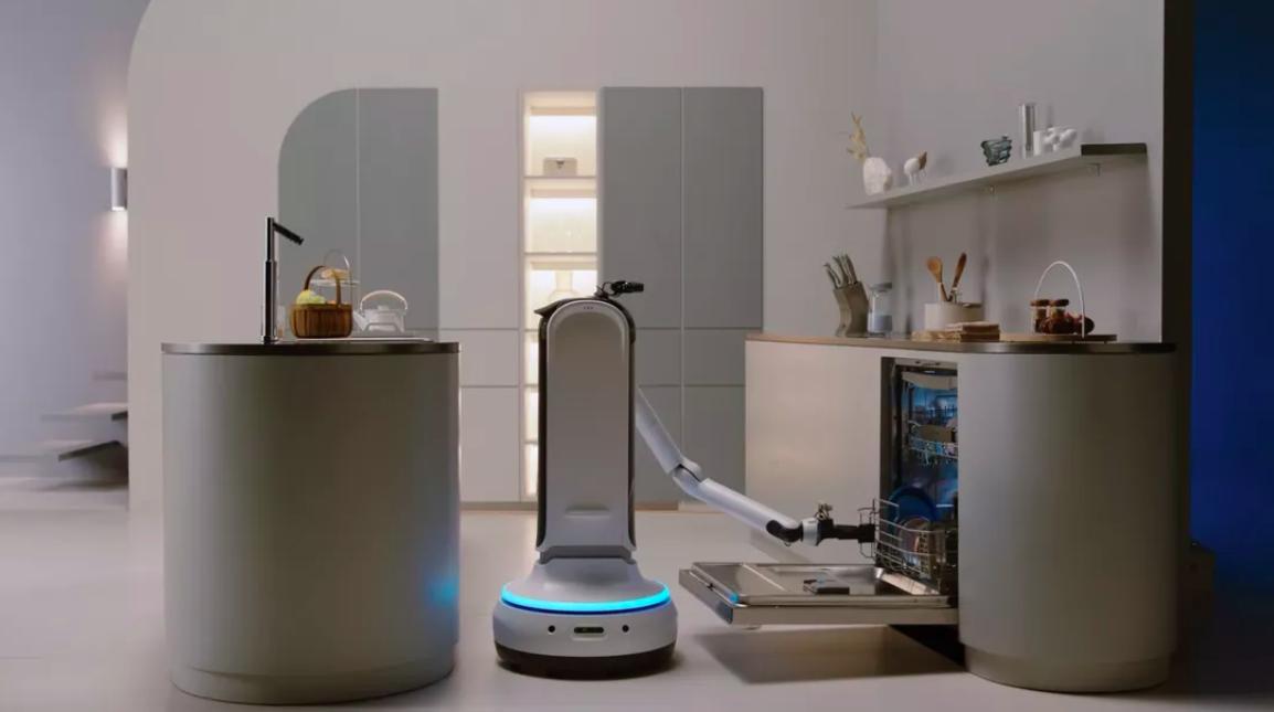 Samsung представила роботов-помощников по дому