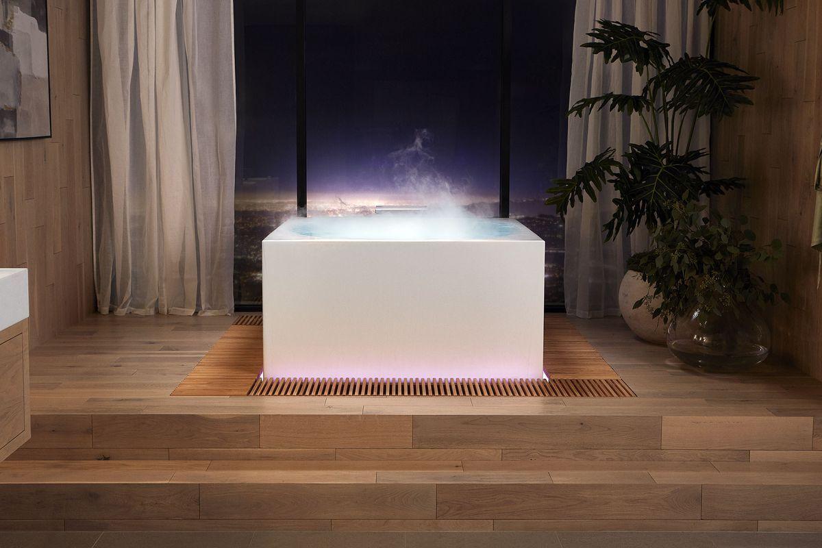Анонсирована умная ванна с управлением с помощью смартфона