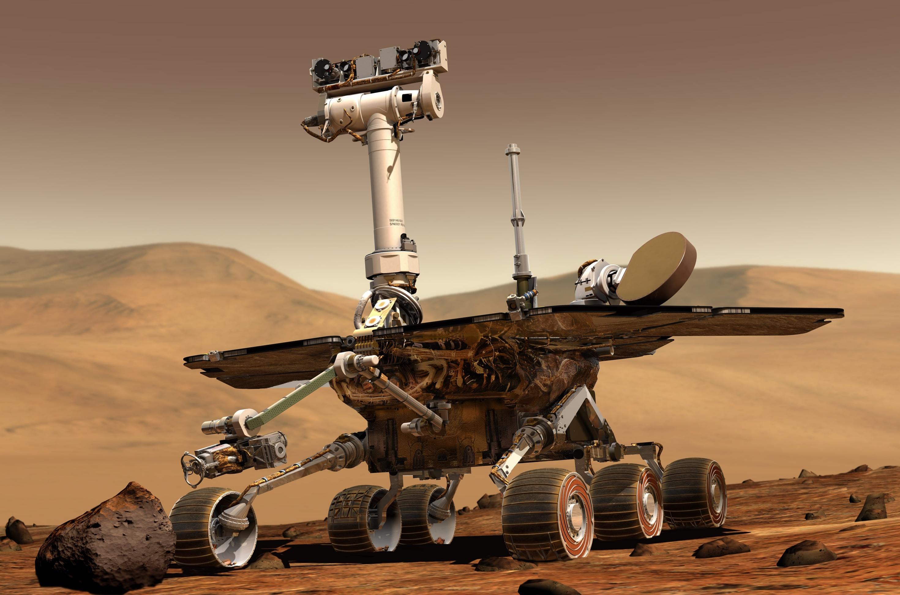 NASA запишет звуки Марса при помощи нового марсохода