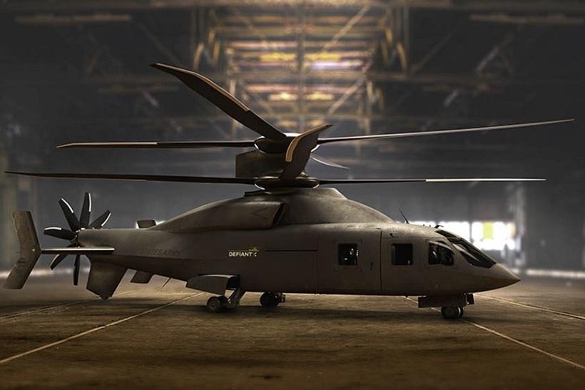 В США показали скоростной вертолёт нового поколения Defiant-X