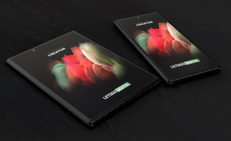 Samsung изобрёл смартфон с выдвигающимся с двух сторон экраном
