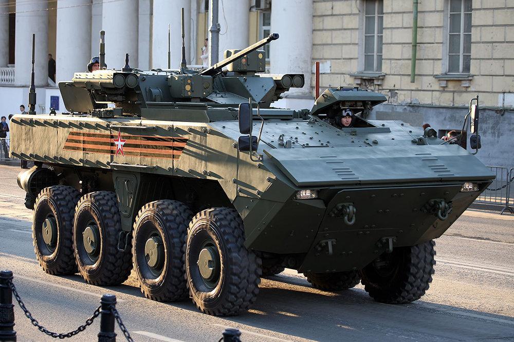 В России анонсировали испытания боевой машины К-16 на платформе Бумеранг