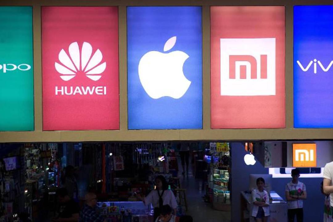 В России упали поставки китайских смартфонов Huawei