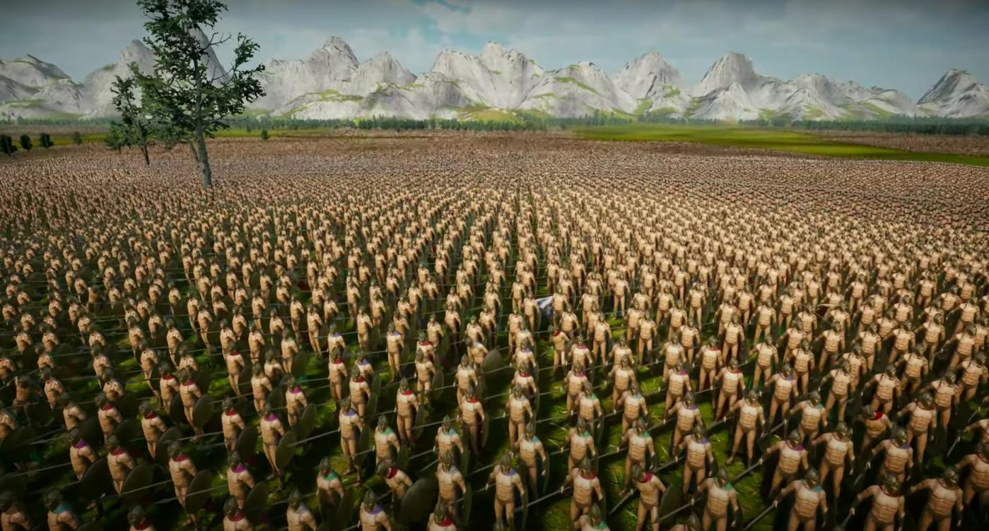 Опубликовано видео из игры со сражением на 10 млн воинов