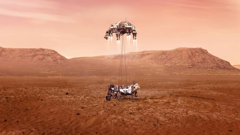 NASA пригласило посмотреть на посадку нового марсохода Perseverance в прямом эфире