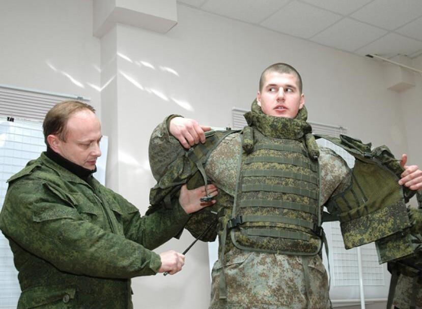 В России создали бронежилет с функцией моментального сброса