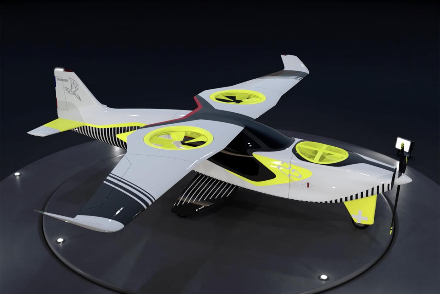 Запас хода гибридного аэротакси оказался в 50 раз больше, чем у электрических аналогов