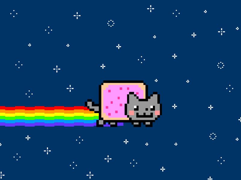 Знаменитую GIF-картинку с котом Nyan Cat выставили на аукцион