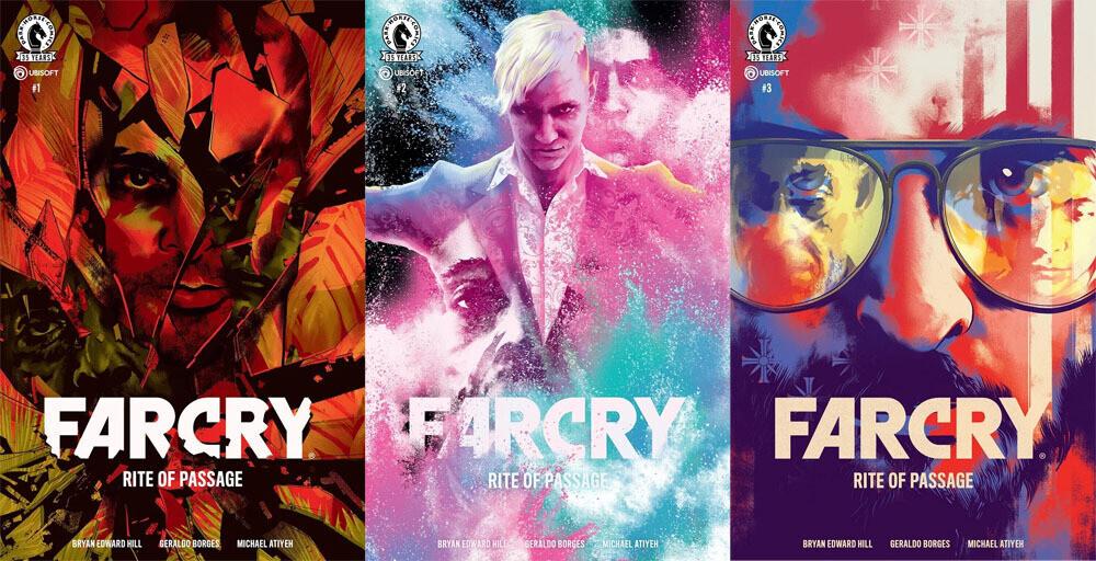 Ubisoft выпустит комиксы по популярной серии игр Far Cry