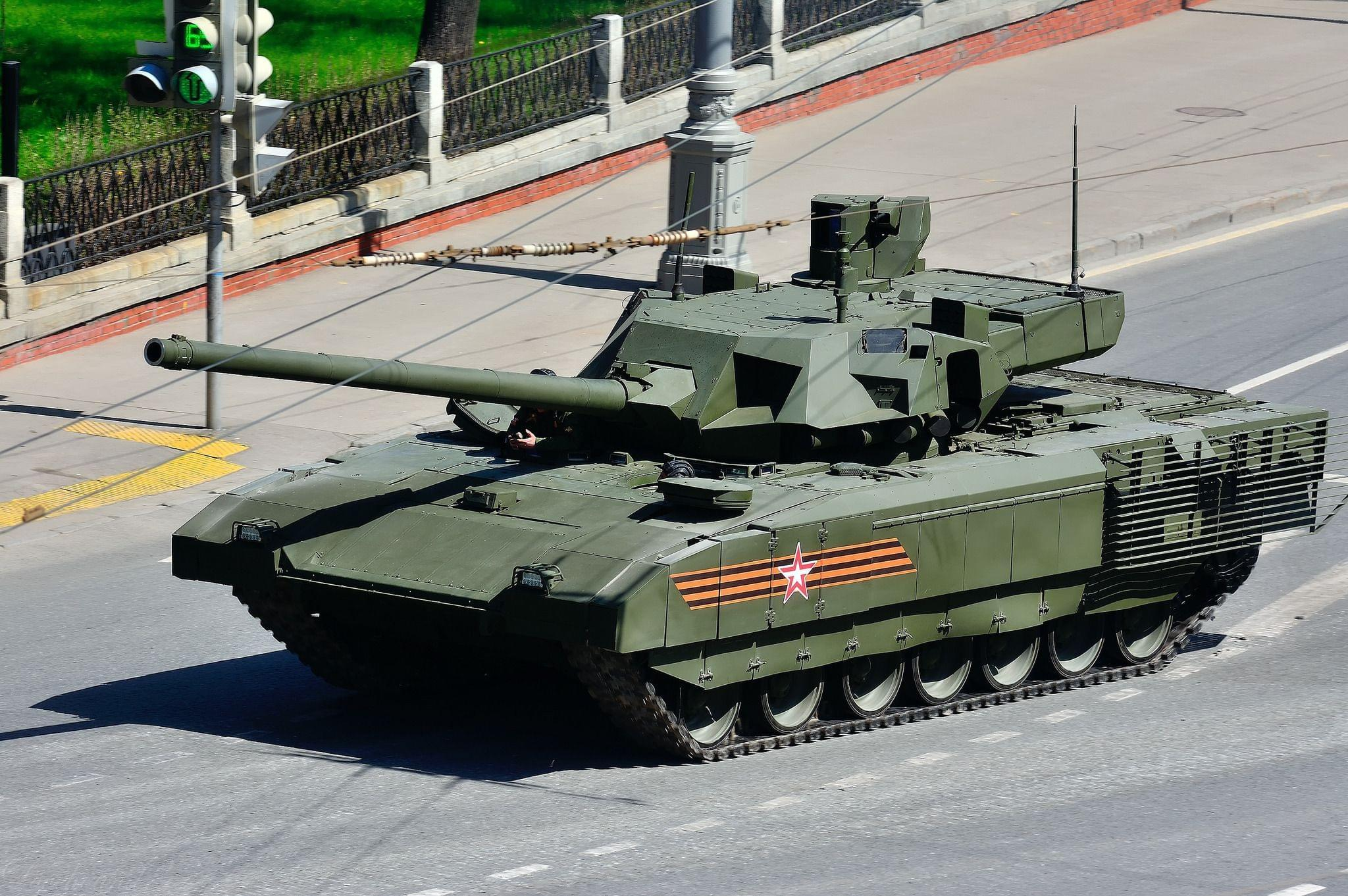 Раскрыты сроки начала поставок танка Армата в российскую армию