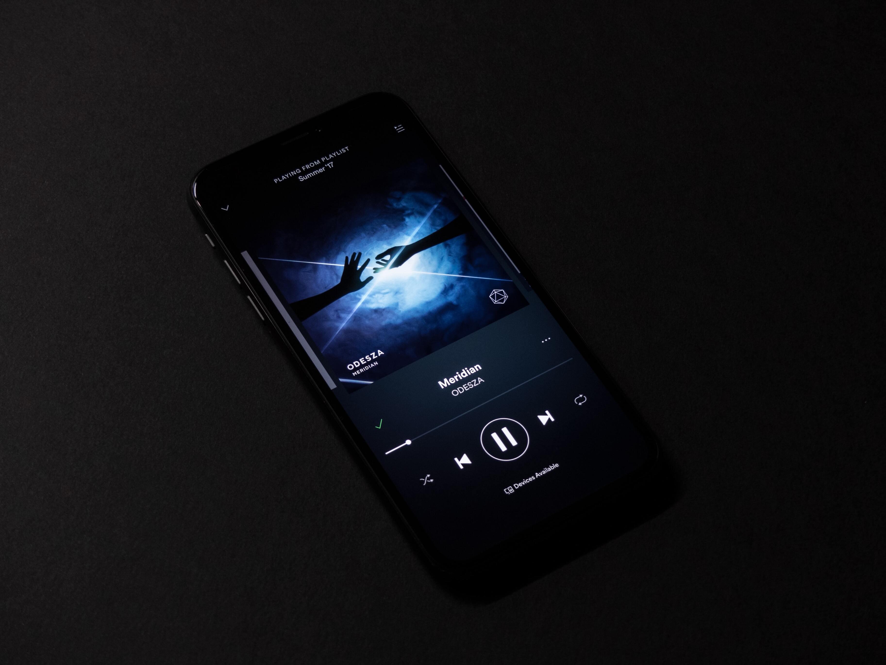 Музыкальный сервис Spotify запустит тариф с высоким качеством звука