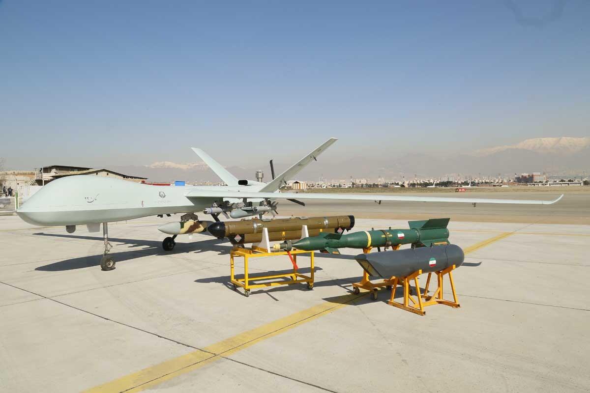 Иран разработал новейший тяжёлый ударный беспилотник