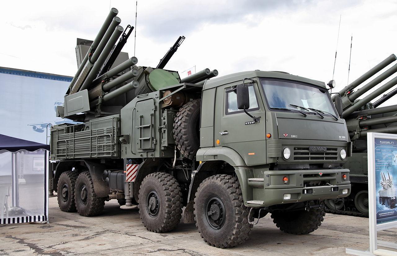 Российские Панцири назвали идеальным средством поражения беспилотников