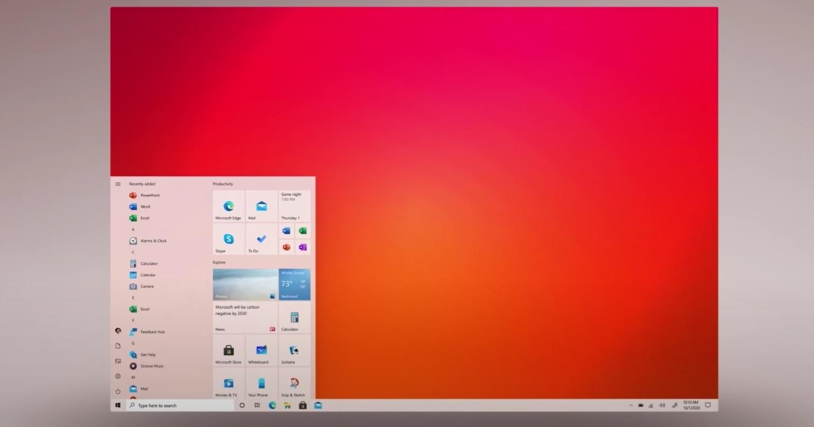 Microsoft готовится анонсировать новую версию Windows 10