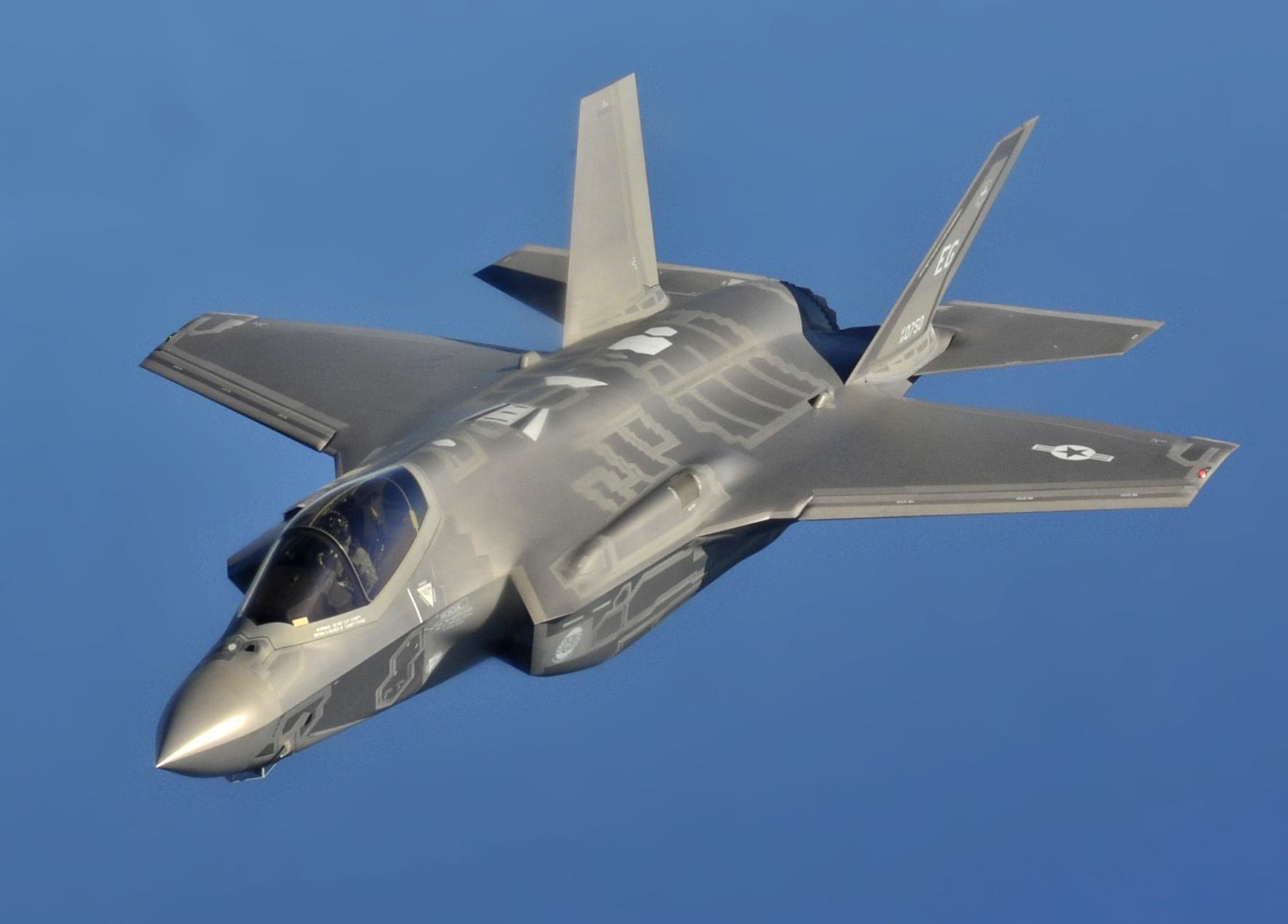 США косвенно признали провал истребителей F-35