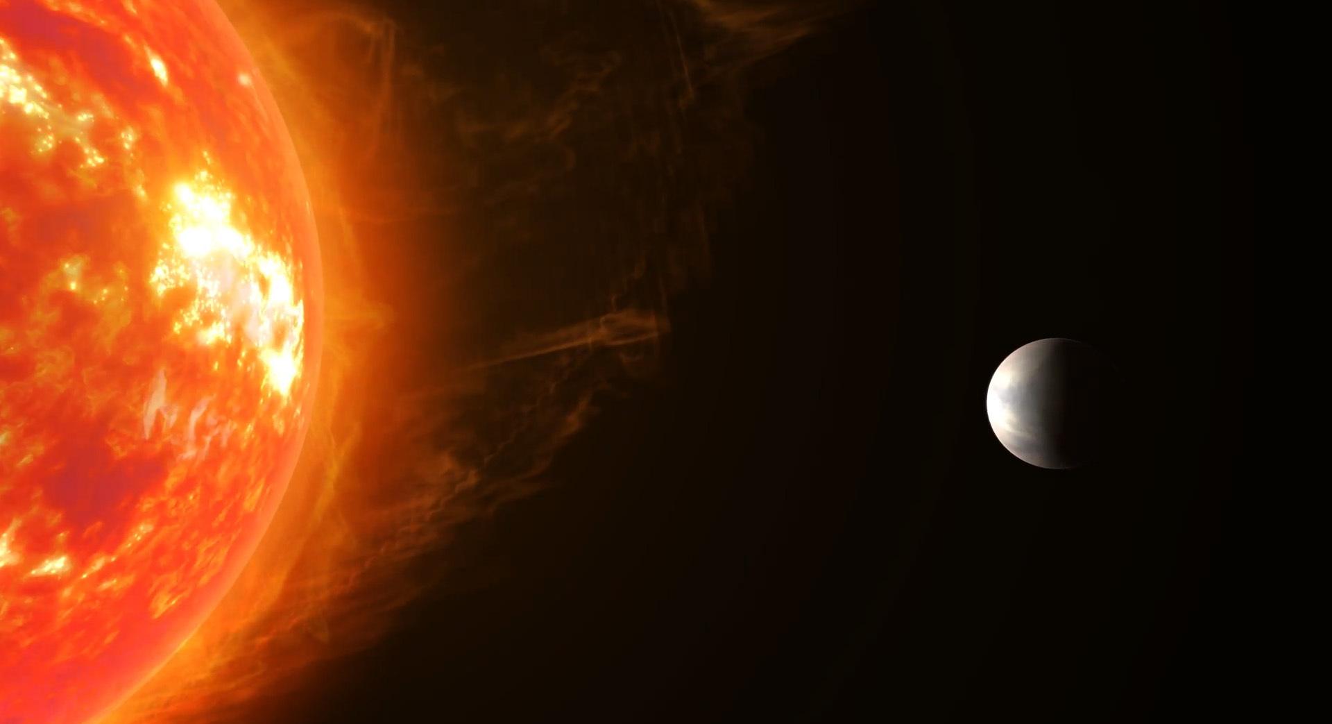 Ученые обнаружили первую экзопланету с видимой атмосферой