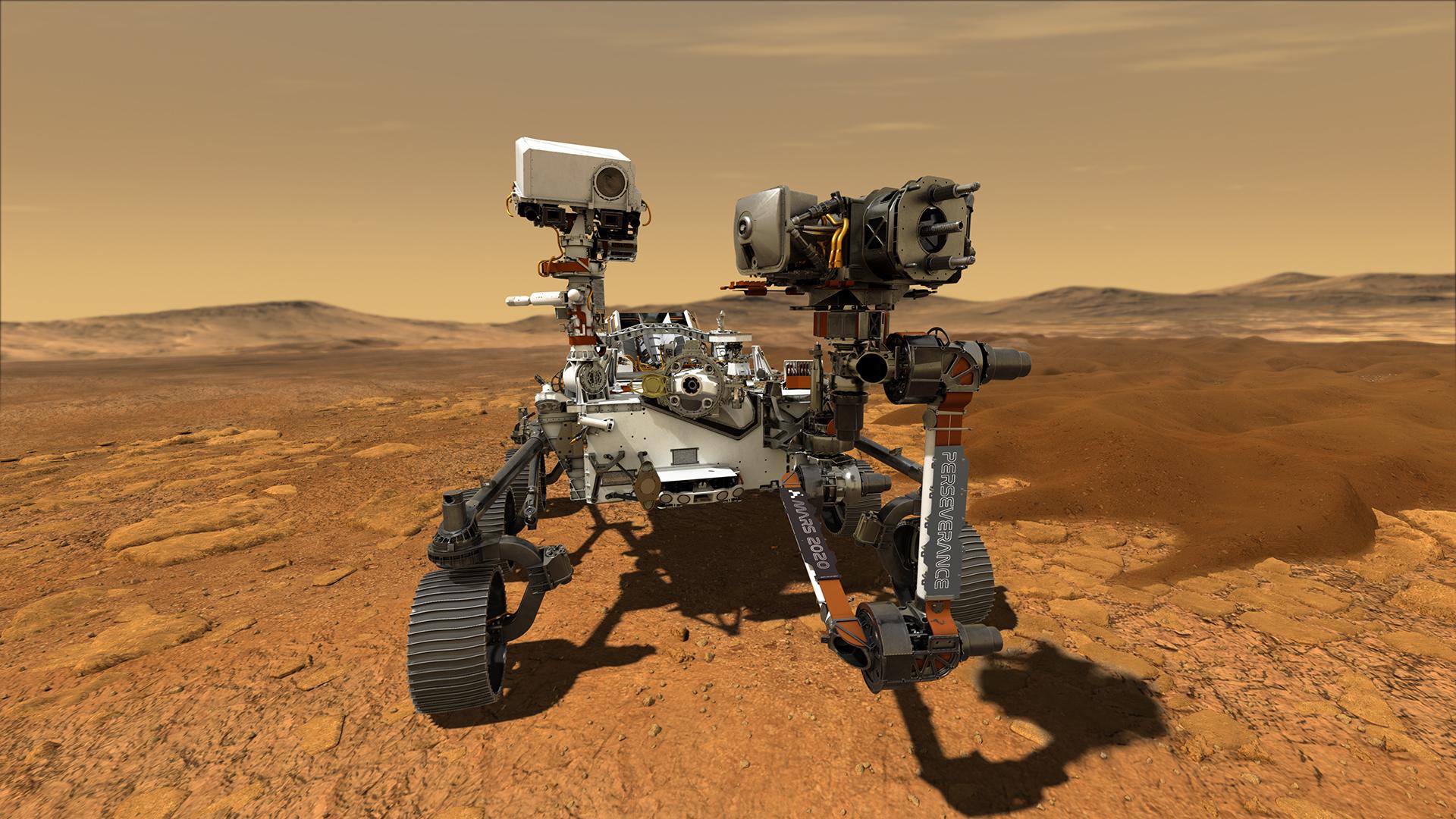 Новый марсоход совершил первую поездку по Марсу