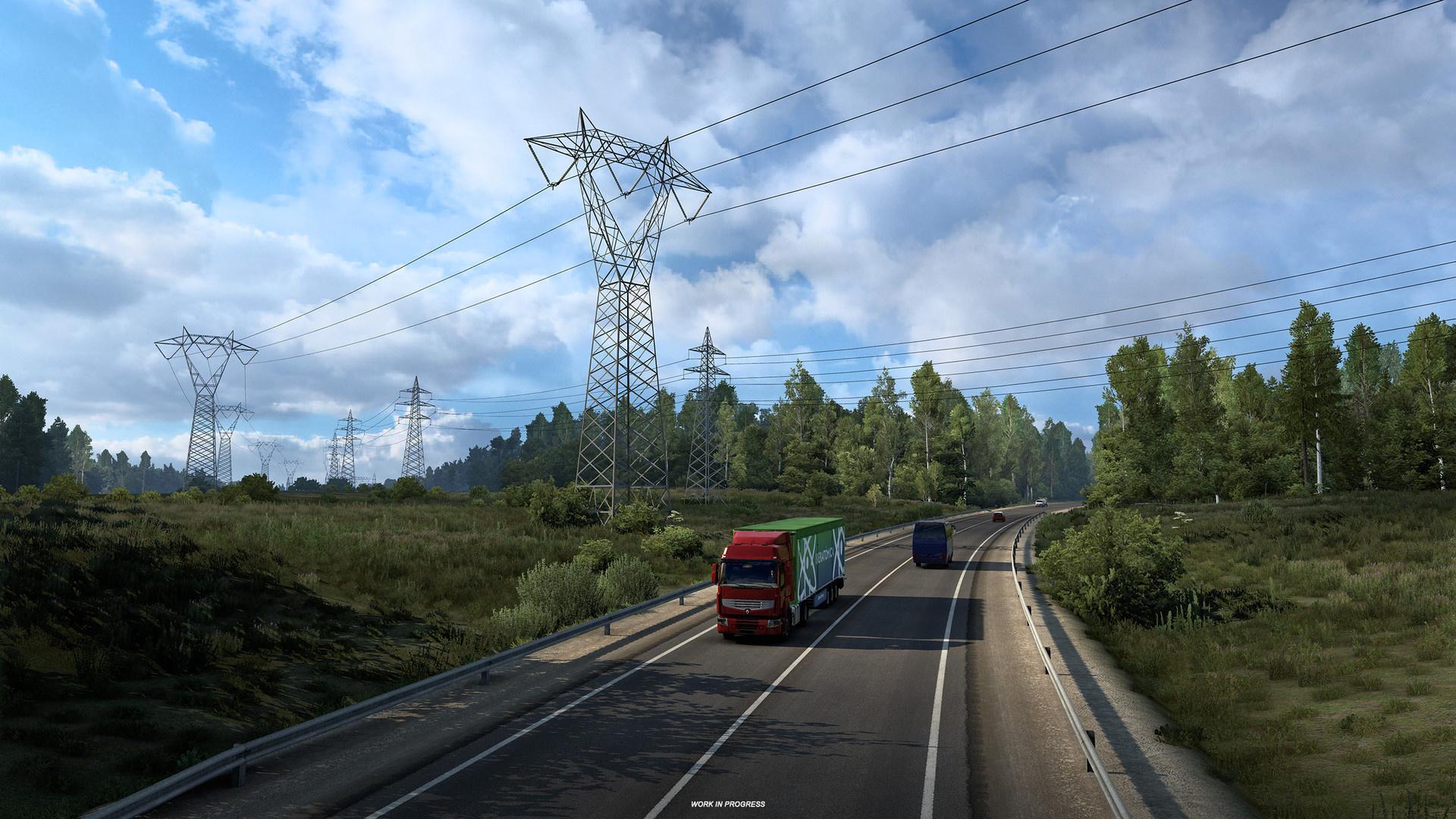 В симулятор дальнобойщика добавят маршруты по России