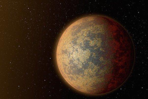Вулканы создали новую атмосферу для землеподобной экзопланеты