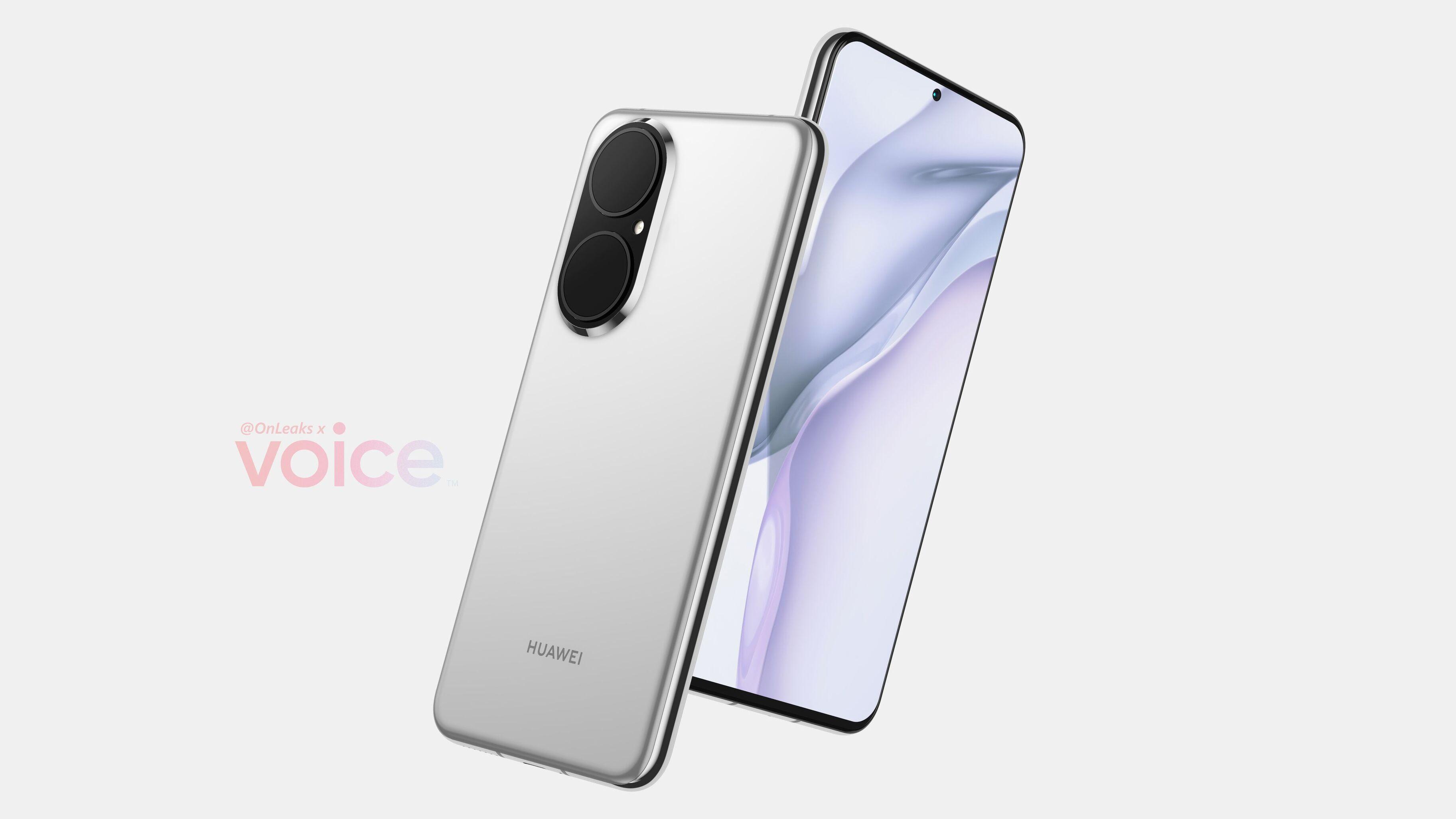 Новый флагманский смартфон Huawei P50 показали на видео