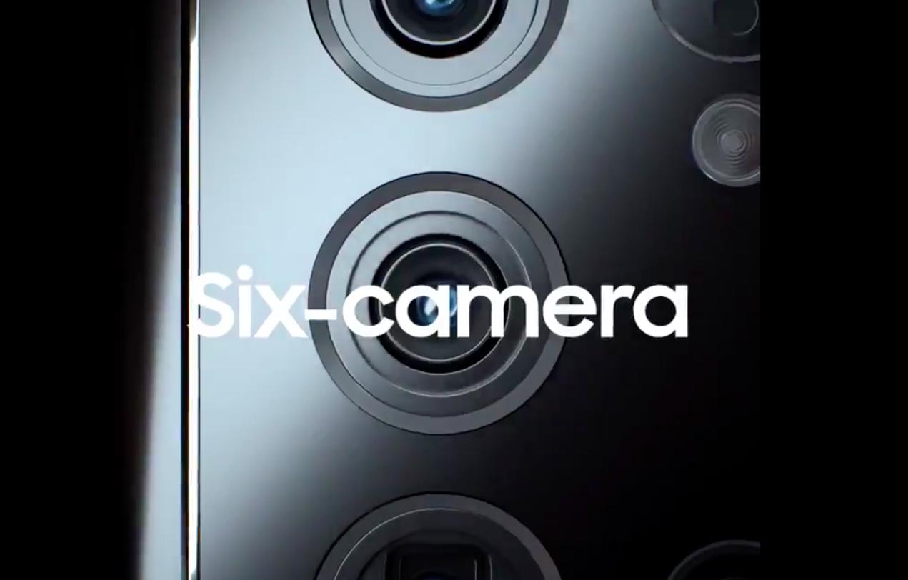 Samsung выпустит смартфон с 6 камерами и 200 Мп